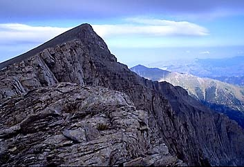 Mt. Olympus Greece - I climbed to the top but Zeus wasn't there :)