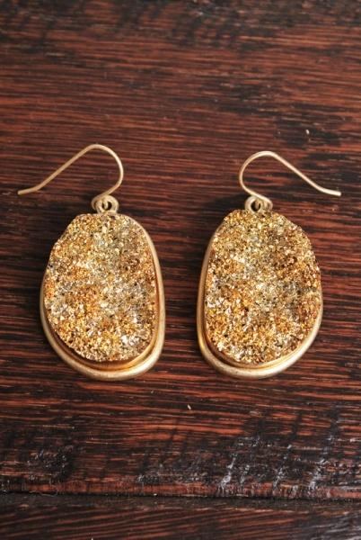 Golden Gate EarringsGolden Gates, Site Golden, Quartz Earrings, Gorgeous Earrings, Gates Earrings, Accessories, Earrings Charmingcharlie