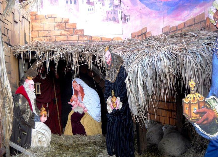 Betlém - vánoční trhy v Drážďanech