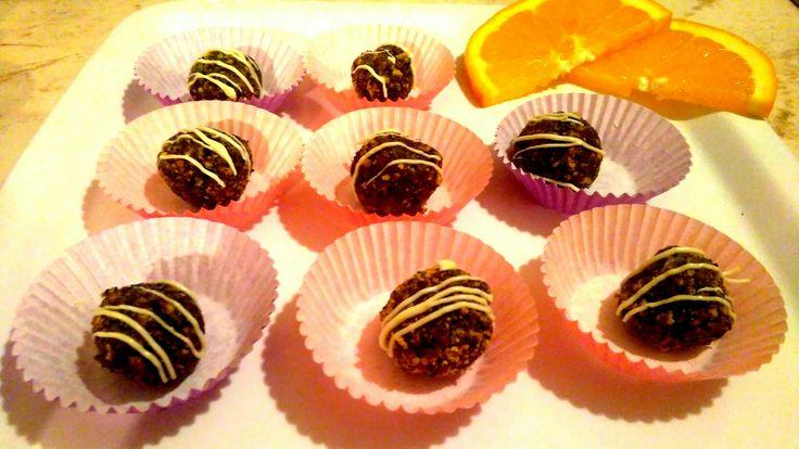 Poppyballs with orange