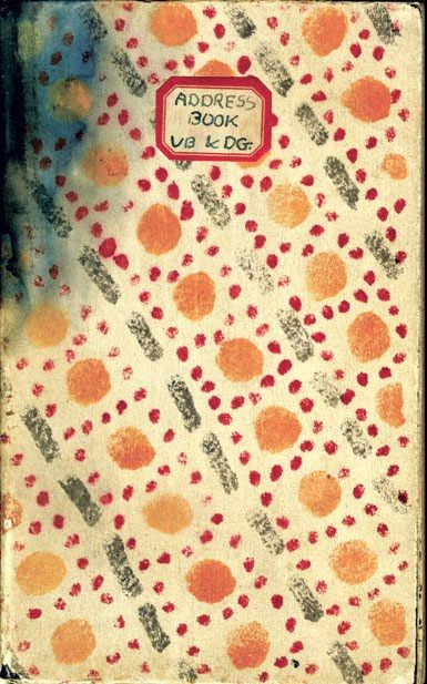Vanessa Bell and Duncan Grant's address book © Tate Britain Archive persephone post