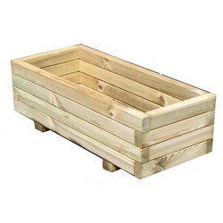 Jardinière rectangulaire Primo 70 CEMONJARDIN - Pot, bac, jardinière
