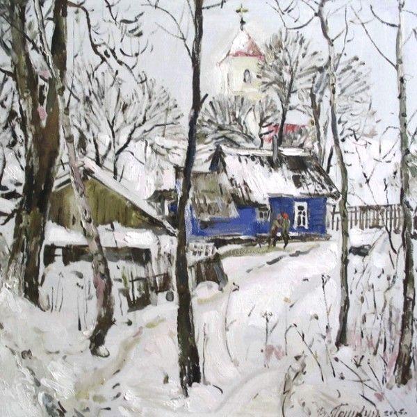 In Zaslawye - Postcards, Pictorial art