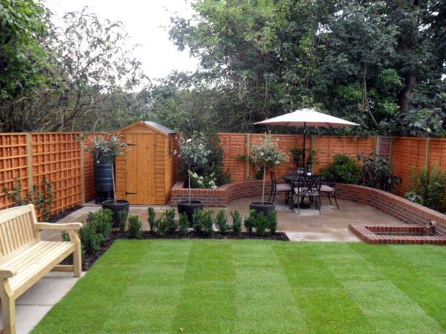 Garden Ideas For Small Gardens Uk 8 best small gardens images on pinterest   landscaping