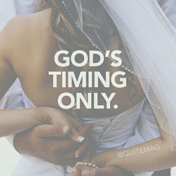God's time only...so true. Just wish I knew when my time is coming :(