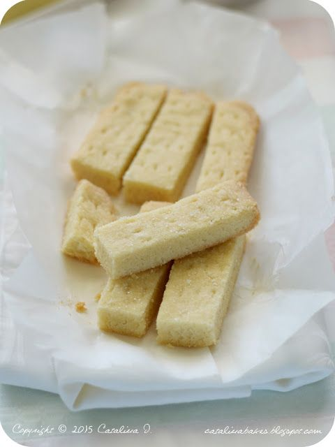 Shortbread Fingers (Skotské máslové sušenky)