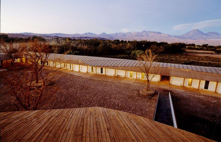 TRANSFER Monograph 01 Desert | Hotel Explora Atacama, German del Sol, Atacama, 1998 | © Guy Wenborne