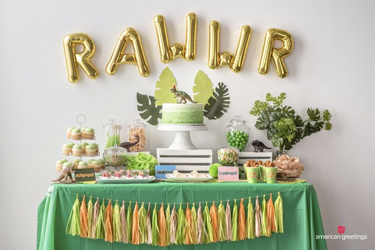 Dinosaurs may be extinct, but their timeless appeal continues to make dinosaur-themed birthday parties a roaring good time for anyone who digs the dino scene.