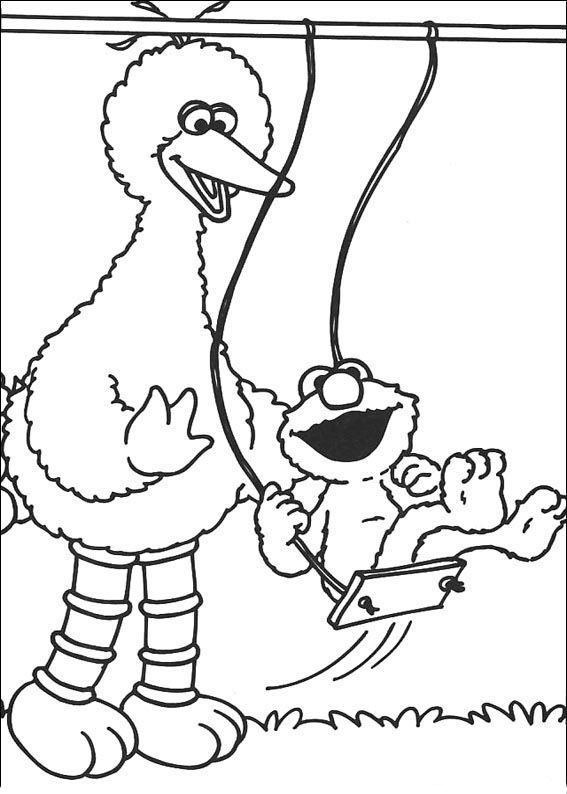 Related Image Sesame Street Coloring Pages Elmo Coloring Pages