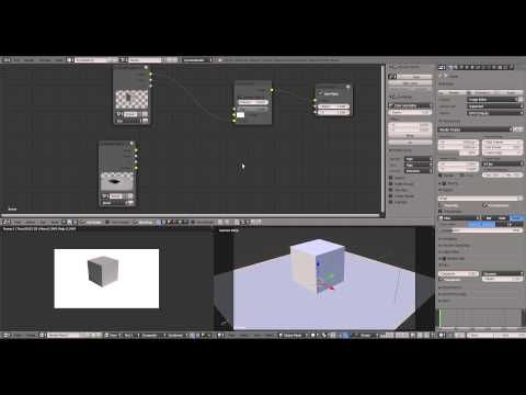 Blender Cycles shadow only plane - tutorial how to ( shadow catcher, shadow pass) - YouTube