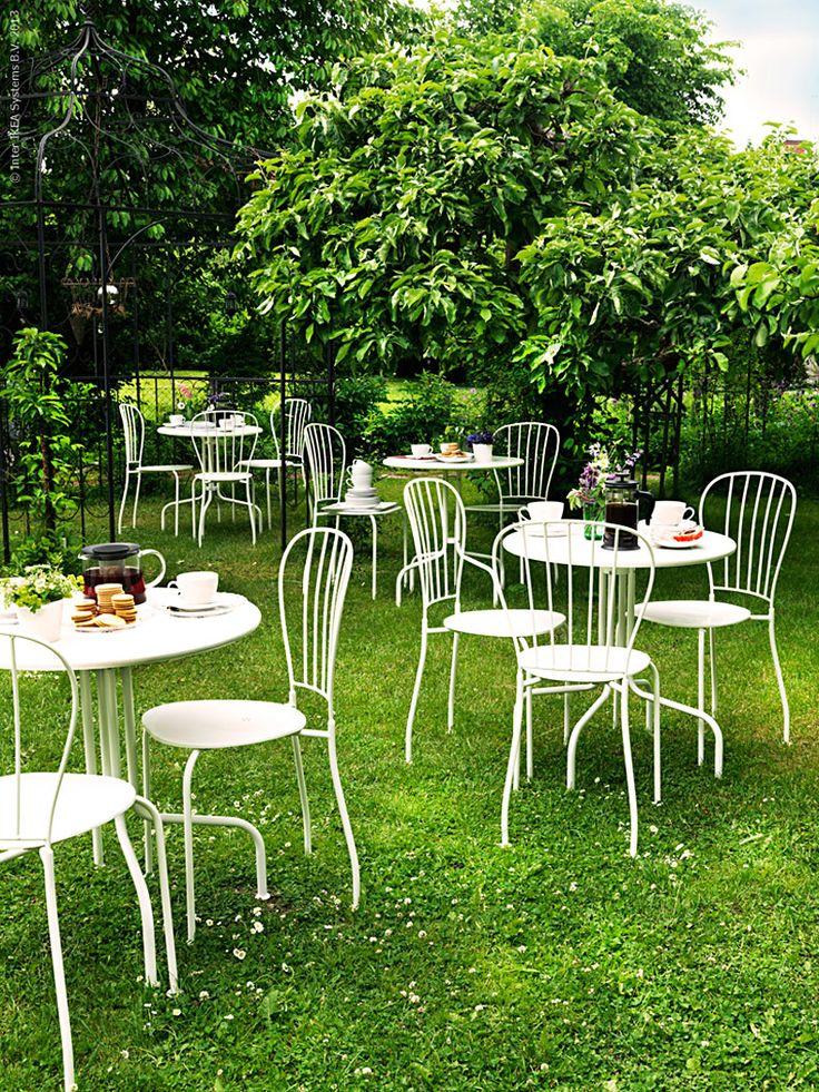 Trädgårdscaféet! | IKEA Livet Hemma – inspirerande inredning för hemmet