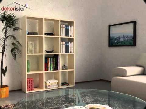 Dekorister dekorasyon firması tarafından tasarlanan kitaplık modellerini sizlere paylaşacağız bu kategori altından.