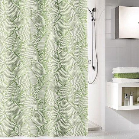 Kleine Wolke Jungle Polyester Shower Curtain - W1800 x H2000mm