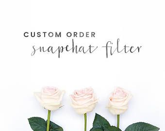 Custom Snapchat Geofilter Desi