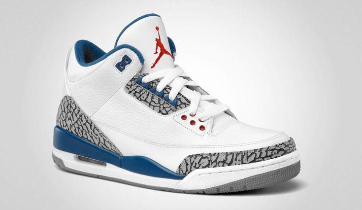 The Air Jordan 3 True Blue with Nike Air branding is rumored to be releasing on Black Friday 2016.