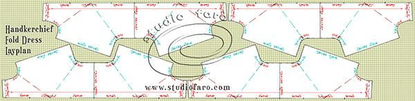 http://www.studiofaro.com/well-suited/pattern-puzzle-handkerchief-fold-dress