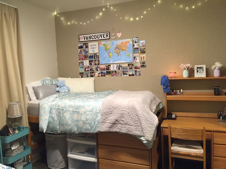 Dorm Room Decor at University of California, Los Angeles (UCLA)