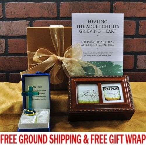"""Loss of Father""  Sympathy Gift Basket"