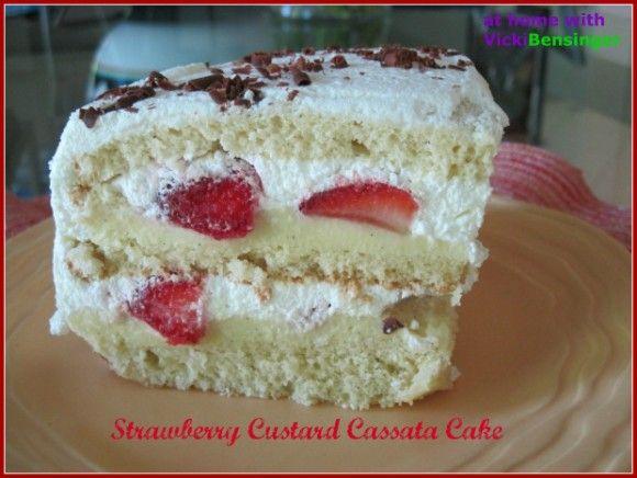 Cassata cake recipe with mascarpone