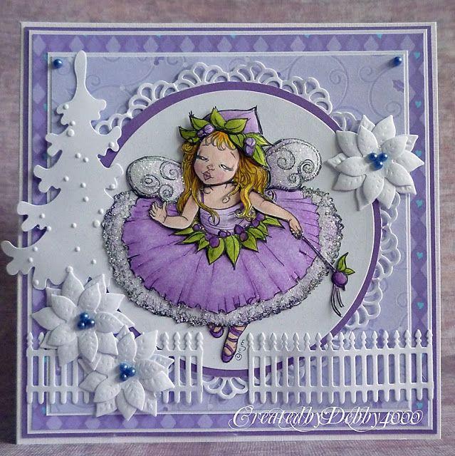 A Scrapjourney: Sugar Plum Fairy