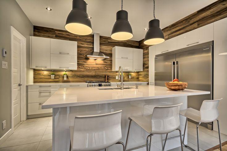 Cuisine contemporaine deco in 2019 american kitchen - Decoration cuisine contemporaine ...