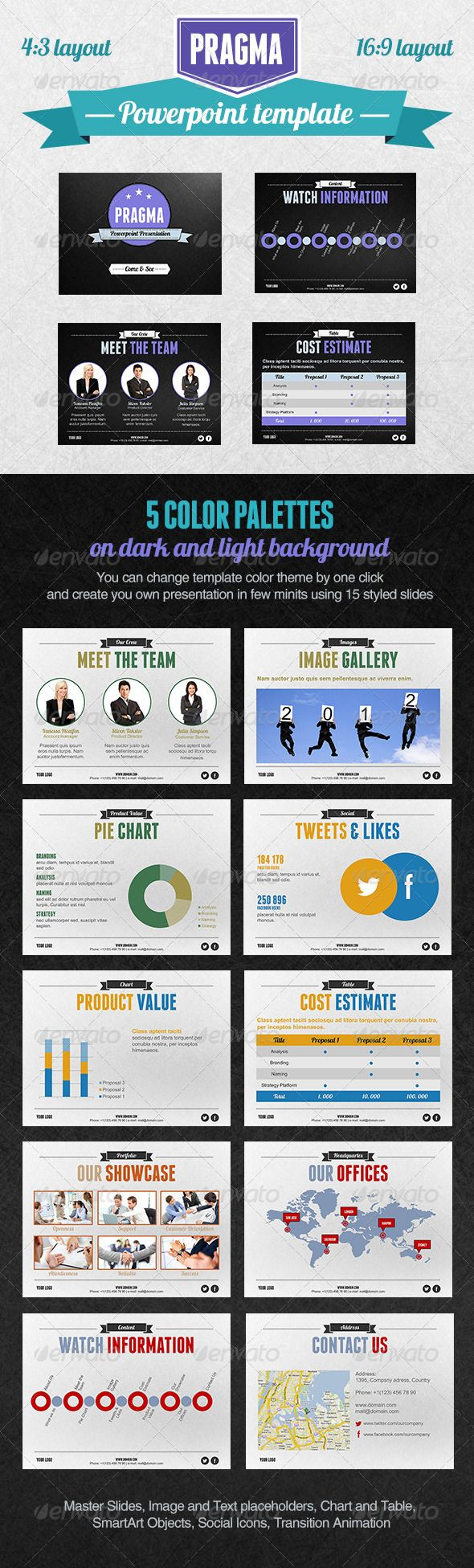 Pragma PowerPoint Presentation Template