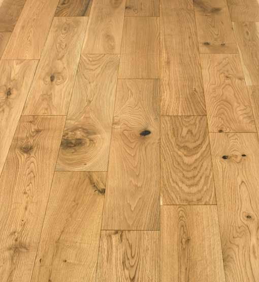 Atkinson & Kirby Caledonian Natural Engineered Oak Floor 125mm Lacquered 526024