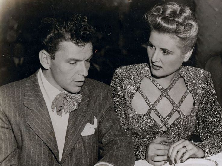 Rose Marie and Frank Sinatra