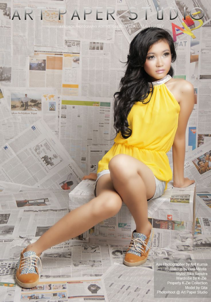 Model by Gita Ass Photographer by Arif Kurnia Makeup by Dea Mirella  Stylist Rika Saputra Wardrobe by K-Zie  Property K-Zie Collection  Photoshoot @ Art Paper Studio