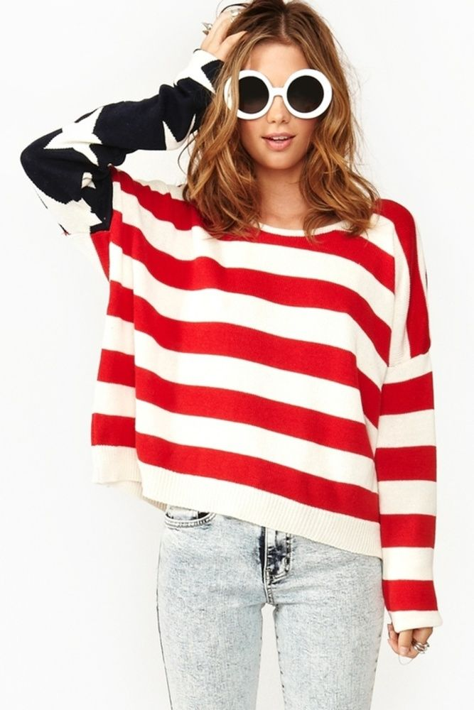 17 best ideas about american flag sweater on pinterest