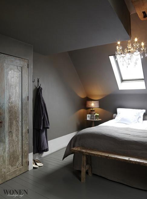 Super mooie en rustgevende warme slaapkamer