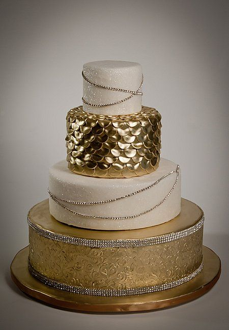 gold wedding cupcake ideas - Google Search