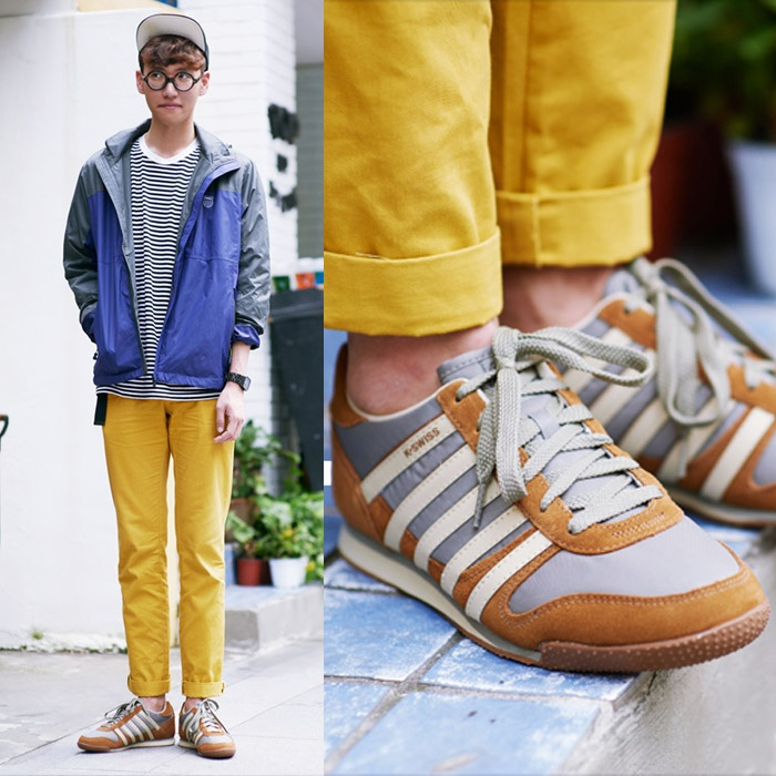 K Swiss Korea Sports Fashion Style Street Fashion Seoul Garosu Gil W Whitburn Shoes Street