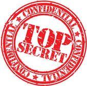 Confidential Clip Art   Secret clipart and illustrations