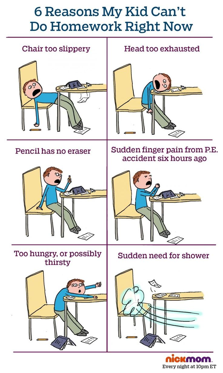 Hmm, Where Have We Heard These Homework Excuses Before? | More LOLs & Funny Stuff for Moms | NickMom