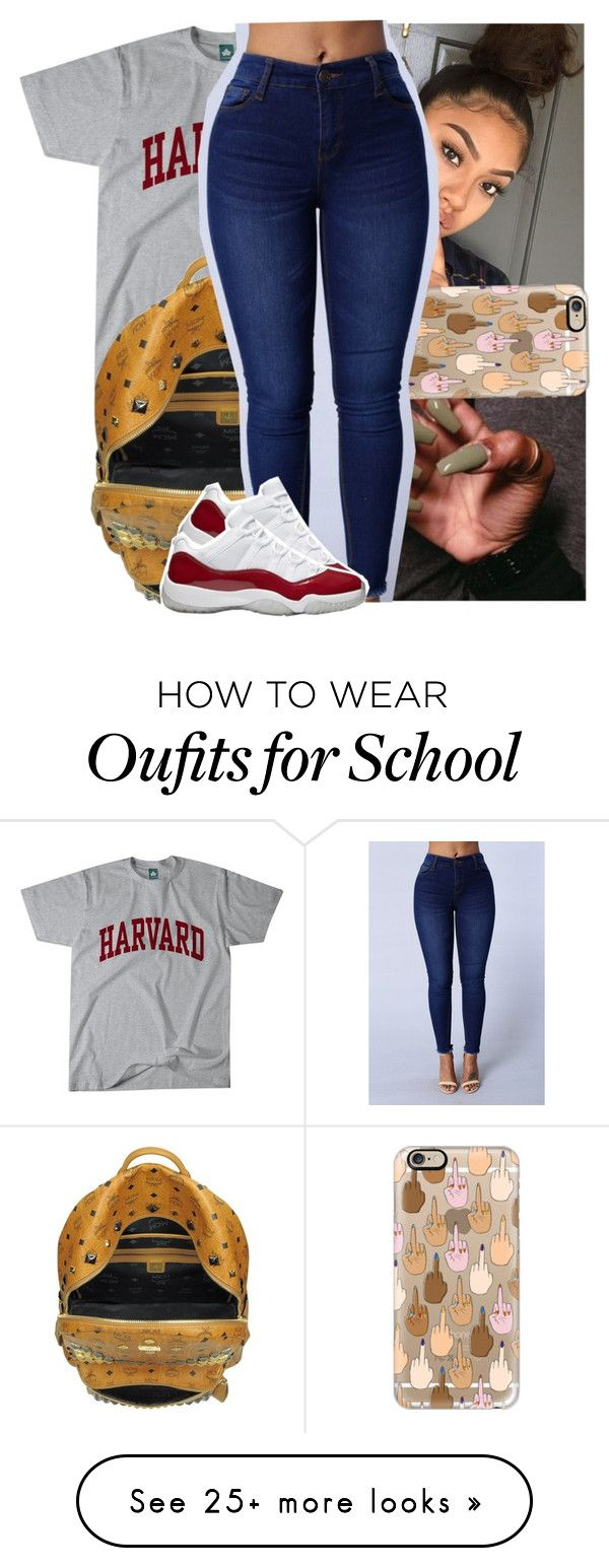""""""".."""" by theyknowtyy on Polyvore featuring MCM and Casetify"""
