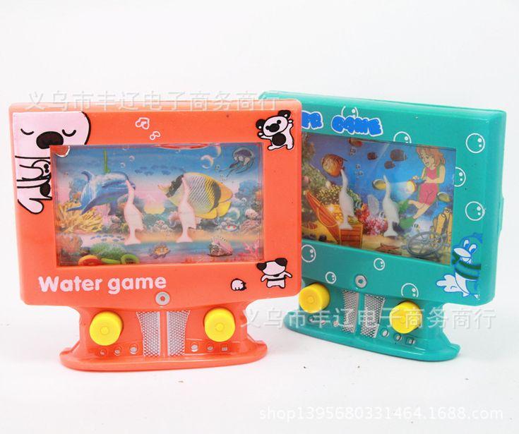 Игрушки для детей, kawaii ТЕЛЕВИЗОР формы портативных игровых консолей интересные купания круг устанавливает игрушки развивающие игрушки для малышей детские игрушки