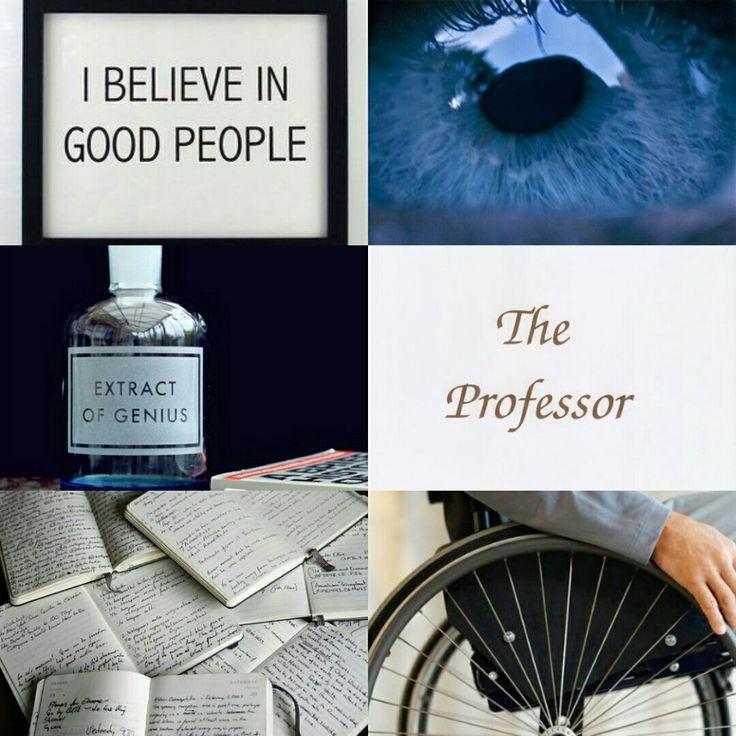 Professor X aesthetic.