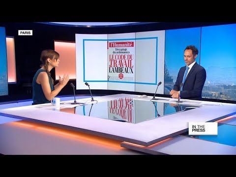 Mixed reactions to the government's planned labour reform FRANCE 24 English