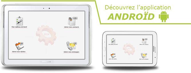 Logiciel CRM PROcontact en version 2014 pour tablettes et smartphones Android. Plus d'info sur http://www.leprogiciel.com/actualites/actualites-logiciels/62-logiciel-crm-tablettes-android.html