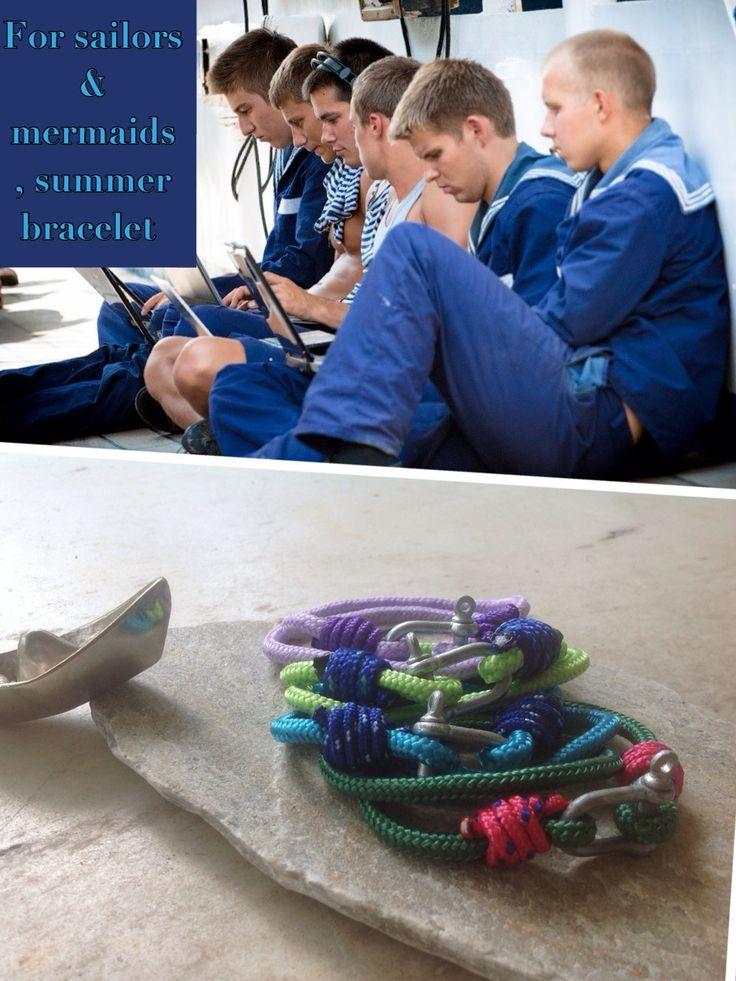 For sailors & mermaids summer bracelets