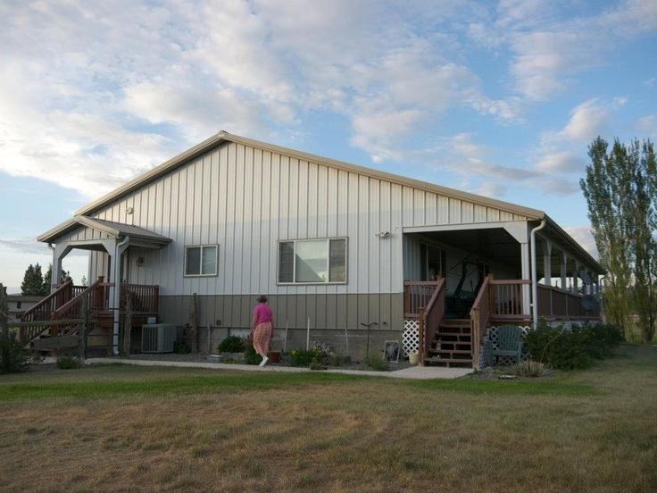 Morton home in montrose colorado homes pinterest for Morton building cabin