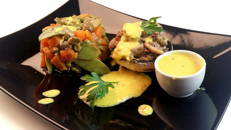 Stuffed mushroom with caper whatever by Spireats