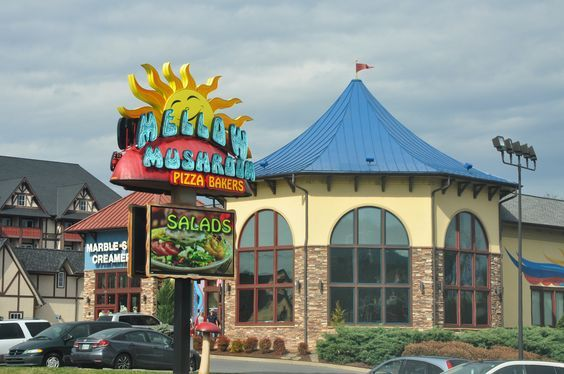 Mellow Mushroom in Pigeon Forge has delicious pizza, hoagies and calzones