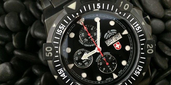 Charmex Swiss Military Conger Nero Auto Review - WatchReport.com   Real. Honest. Reviews.   Authentic Watch Reviews  