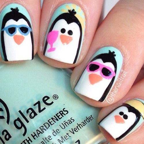 HOW CUTE IS THIS BY @thenailtrail?! http://decoraciondeunas.com.mx #moda, #fashion, #nails, #like, #uñas, #trend, #style, #nice, #chic, #girls, #nailart, #inspiration, #art, #pretty, #cute, uñas decoradas, estilos de uñas, uñas de gel, uñas postizas, #gelish, #barniz, esmalte para uñas, modelos de uñas, uñas decoradas, decoracion de uñas, uñas pintadas, barniz para uñas, manicure, #glitter, gel nails, fashion nails, beautiful nails, #stylish, nail styles