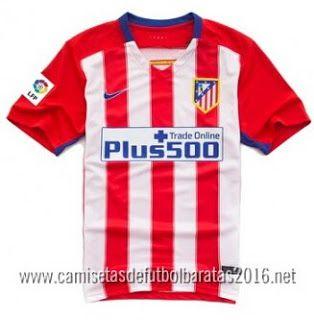 Comprar replicas camisetas de fútbol baratas 2016 : Camisa del fútbol Top La Liga Recomendado: camiset...