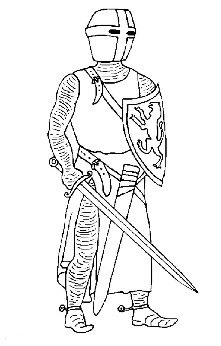 19 coloring pages of Knights on Kids-n-Fun.co.uk. On Kids-n-Fun