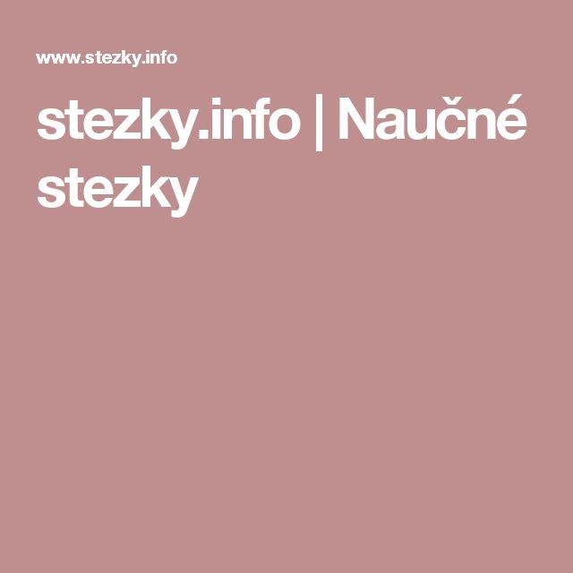 stezky.info |   Naučné stezky