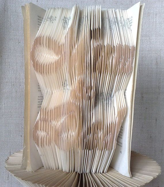 Book folding pattern and FREE Tutorial  Mum & Dad by PatternsStore